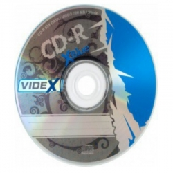 Диск для записи Videx CD-R X-Blue
