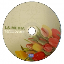 Диск LS-MEDIA DVD+R 4.7GB x8