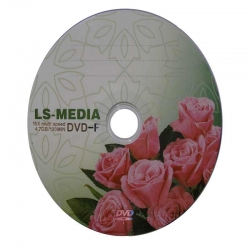 LS-MEDIA DVD-R 4.7GB Розы