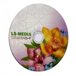 LS-MEDIA DVD-R 4.7GB Орхидеи